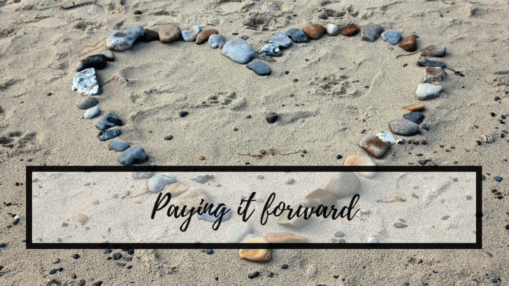 Paying it forward – and feeling good about yourself