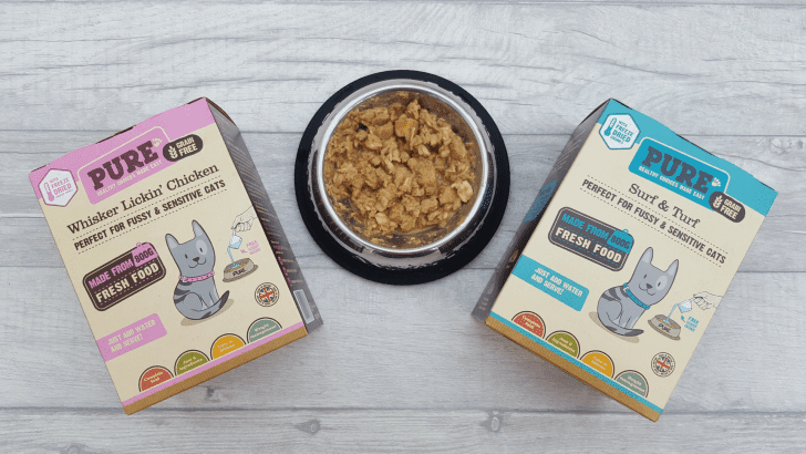 Pure Pet Food for Cats review