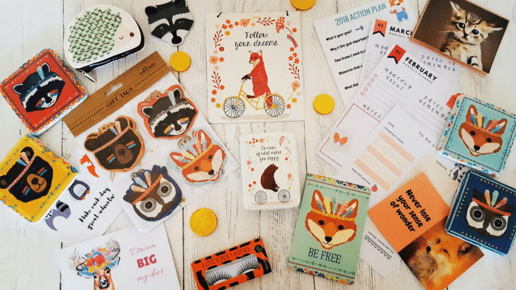 Woodland Adventures from Artemis & Xena: Spring box review