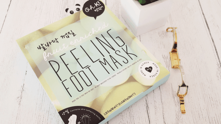 From hobbit to baby feet with Oh K!'s Korean peeling foot mask