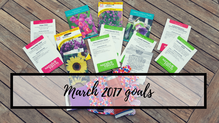 March 2017 goals
