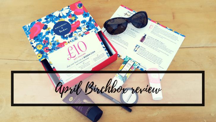 April Birchbox review