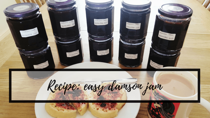 Recipe: easy damson jam
