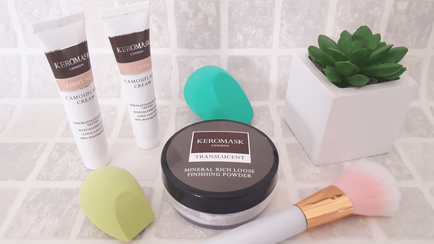 Keromask camouflage make up review
