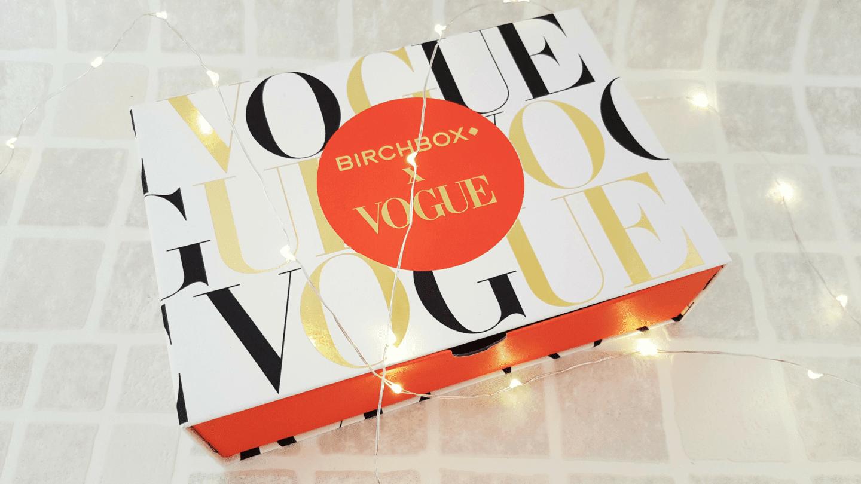 Vogue: November Birchbox review