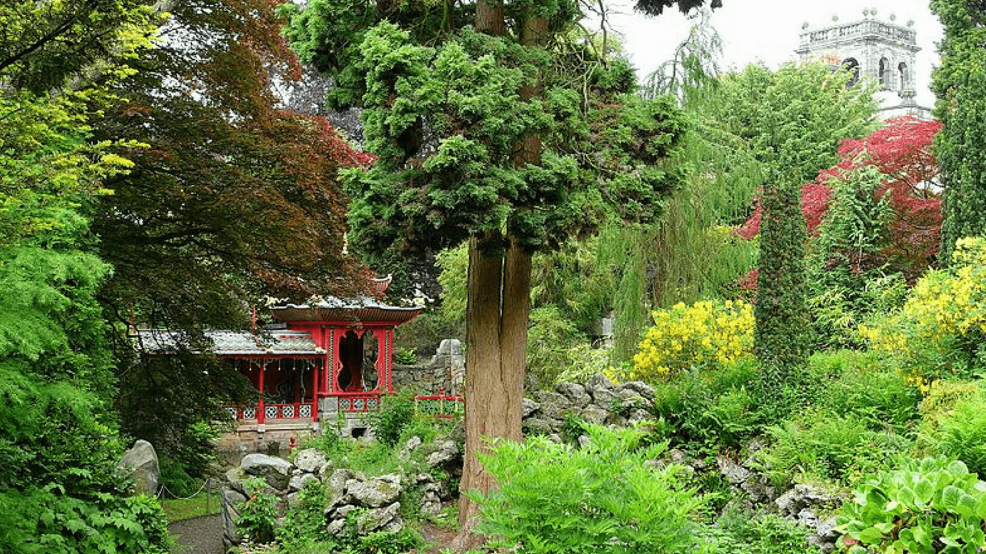 Chinese Temple - Biddulph Grange Garden