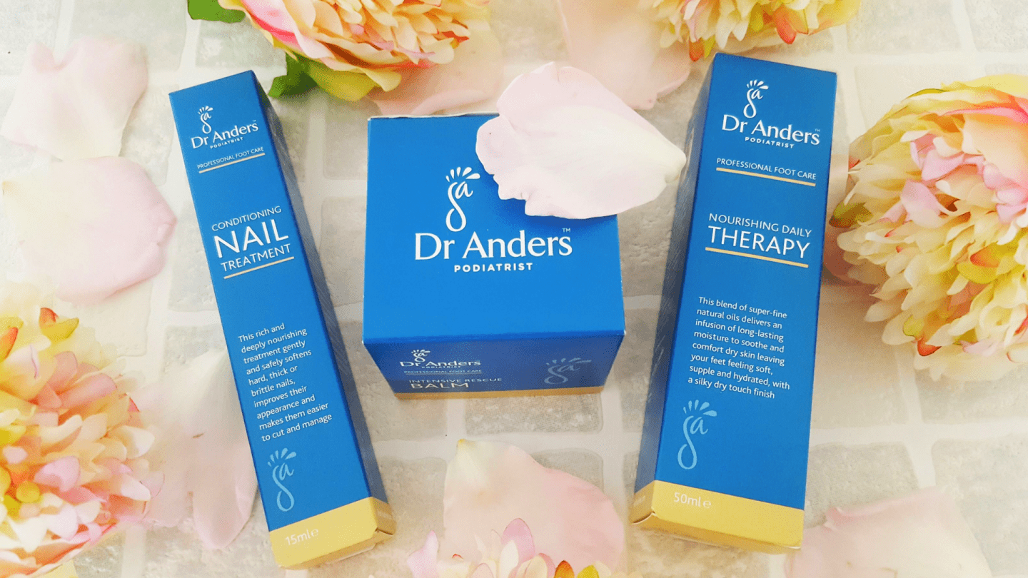 Feeling your feet with Dr Anders luxury professional foot care