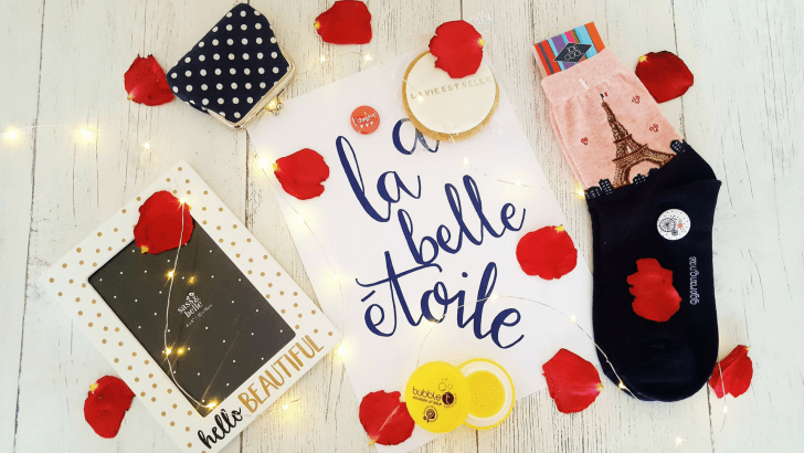 Reaching for the stars with July's TreatBox: collab with Hello Bexa