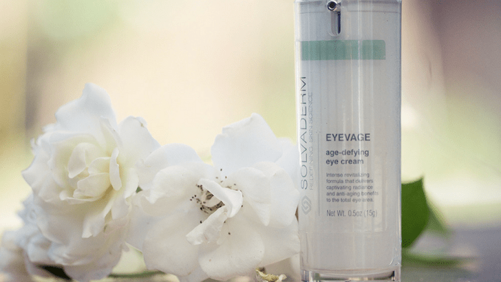 Finding the perfect eye cream with Solvaderm Skincare's Eyevage *