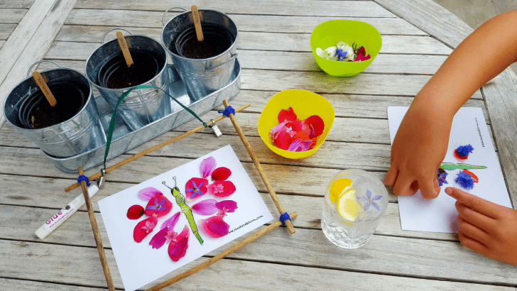 Mud and Bloom Kids Nature, Craft & Gardening August Box – review