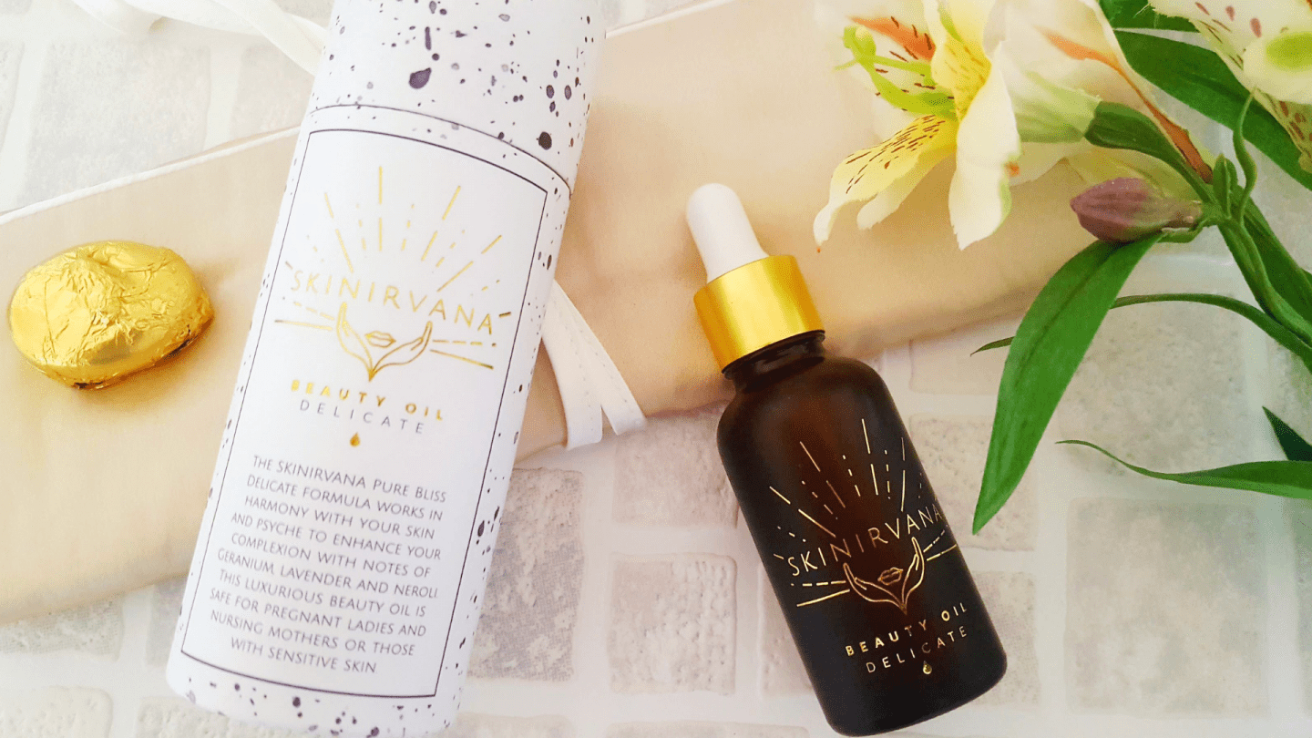 Nurturing my skin with Skinirvana Pure Bliss Beauty Oil