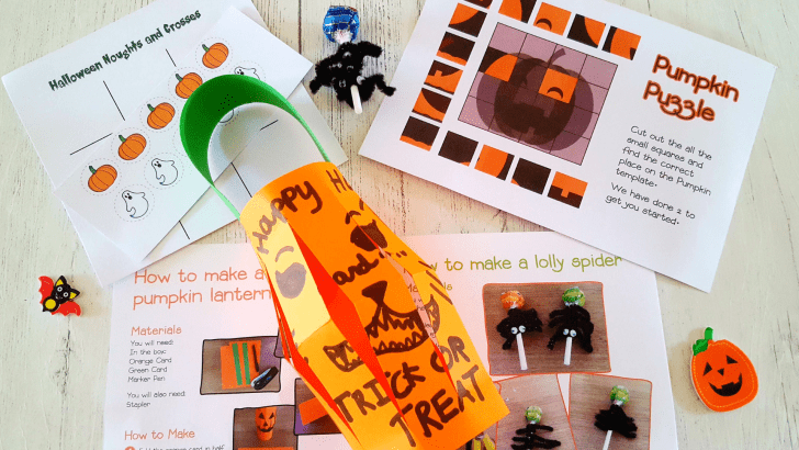 Spooky fun with Willow & Wild October Craft and Gardening box