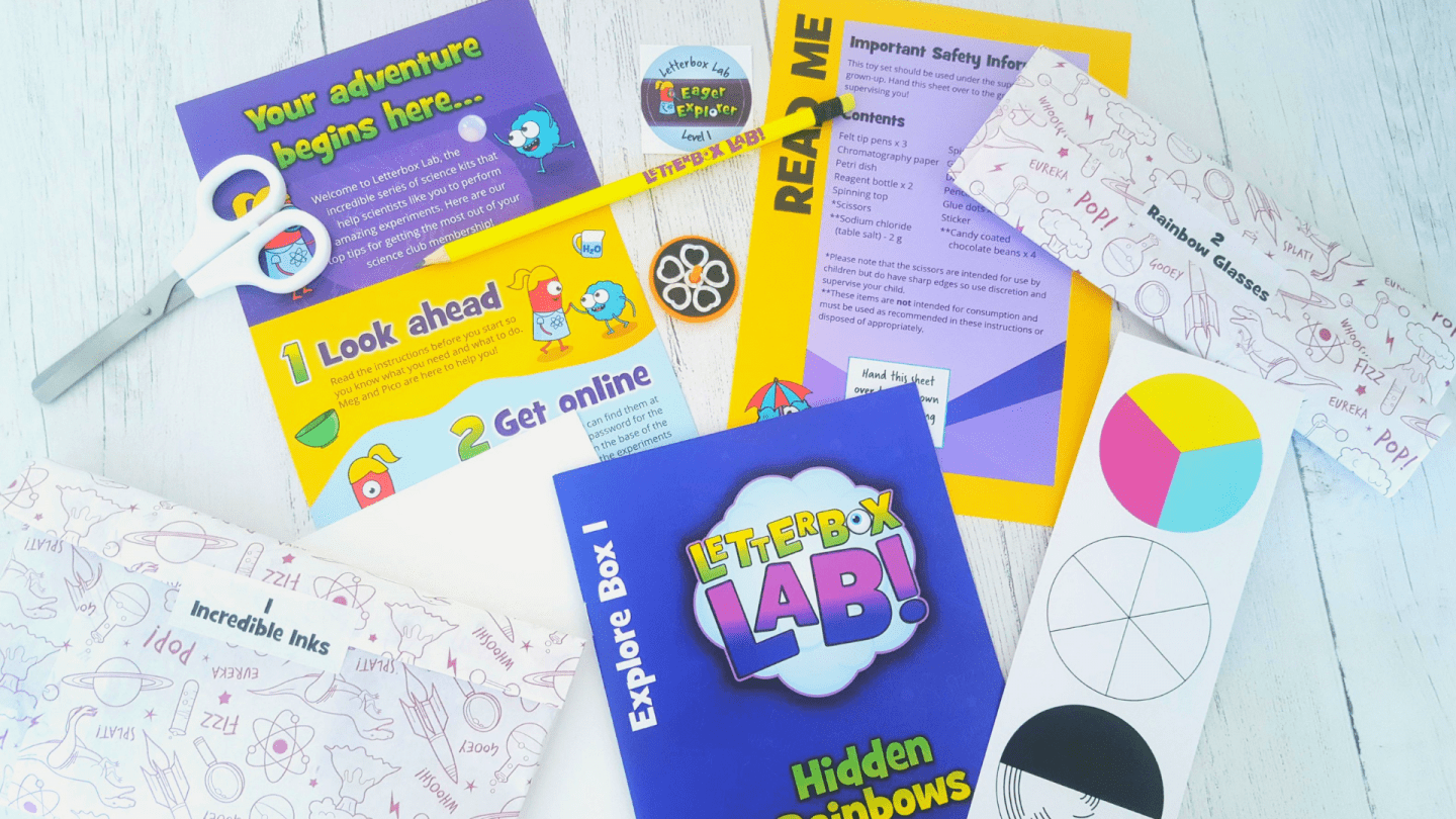 Fun science experiments for kids with Letterbox Lab