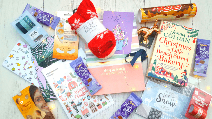 Christmas self-care blogger box swap with Bournemouth Girl